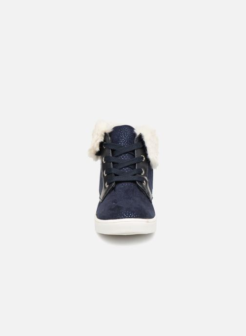 Baskets I Love Shoes FILOFUR Bleu vue portées chaussures