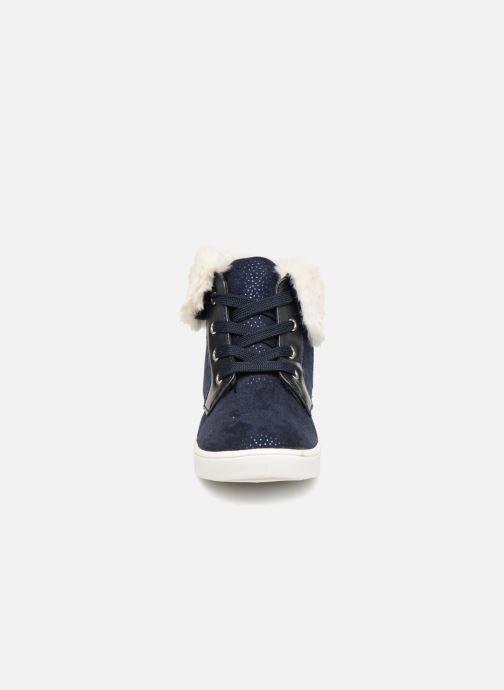 Sneakers I Love Shoes FILOFUR Azzurro modello indossato