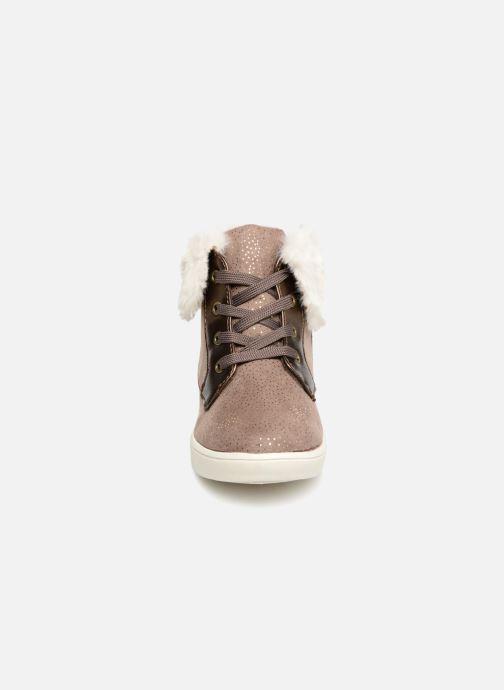 Baskets I Love Shoes FILOFUR Beige vue portées chaussures