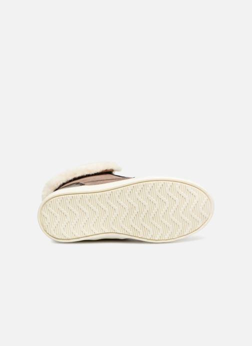 Baskets I Love Shoes FILOFUR Beige vue haut