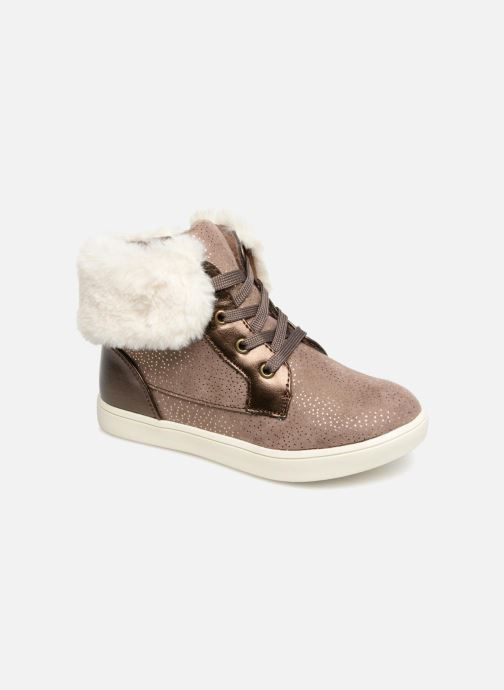 Baskets I Love Shoes FILOFUR Beige vue détail/paire