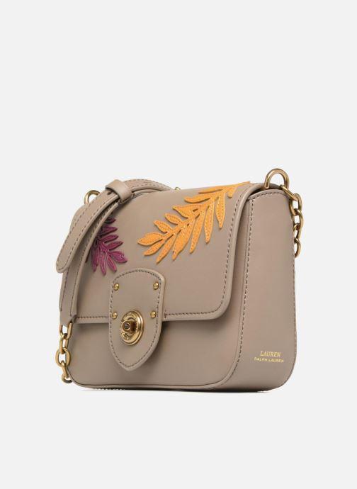 Handtaschen Lauren Ralph Lauren Millebrook Chain xbody S beige schuhe getragen