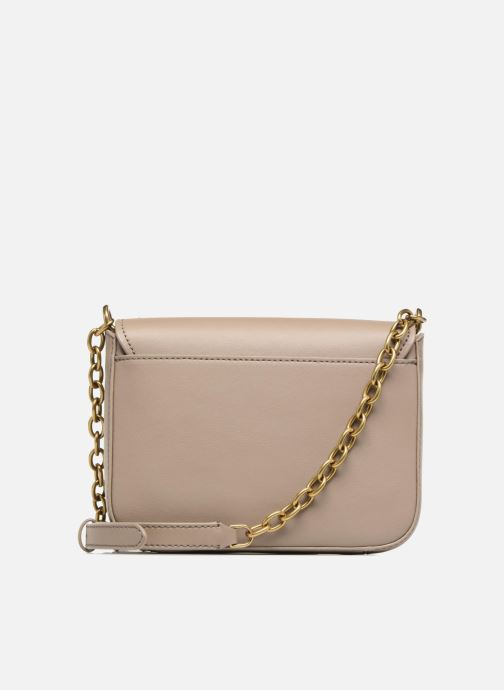 Handtaschen Lauren Ralph Lauren Millebrook Chain xbody S beige ansicht von vorne