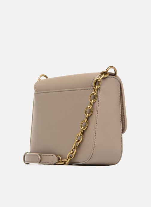 Handtaschen Lauren Ralph Lauren Millebrook Chain xbody S beige ansicht von rechts