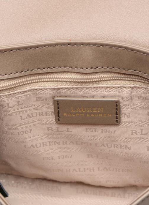 Handtaschen Lauren Ralph Lauren Millebrook Chain xbody S beige ansicht von hinten