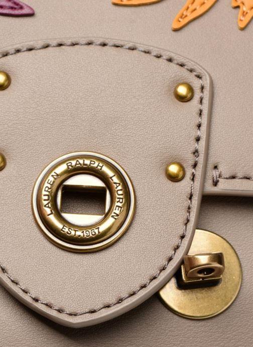 Handtaschen Lauren Ralph Lauren Millebrook Chain xbody S beige ansicht von links