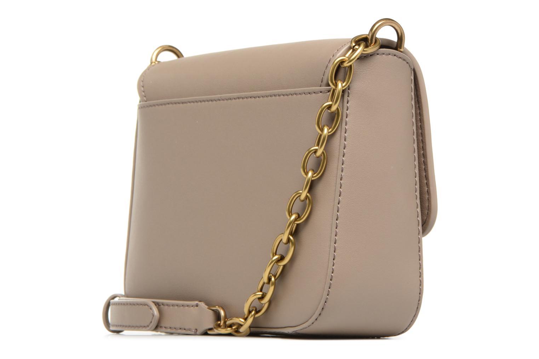 Handtaschen Lauren by Ralph Lauren Millebrook Chain xbody S beige ansicht von rechts