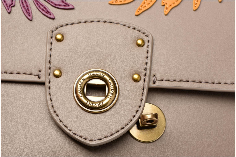 Handtaschen Lauren by Ralph Lauren Millebrook Chain xbody S beige ansicht von links
