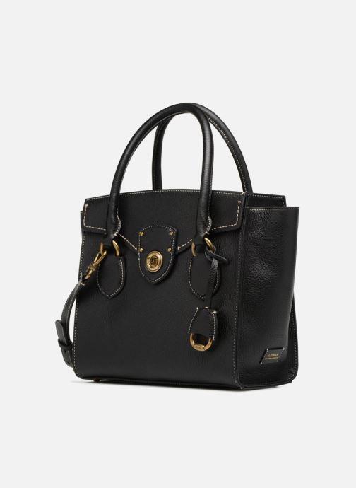 Handtaschen Lauren Ralph Lauren Millebrook Satchel M schwarz schuhe getragen