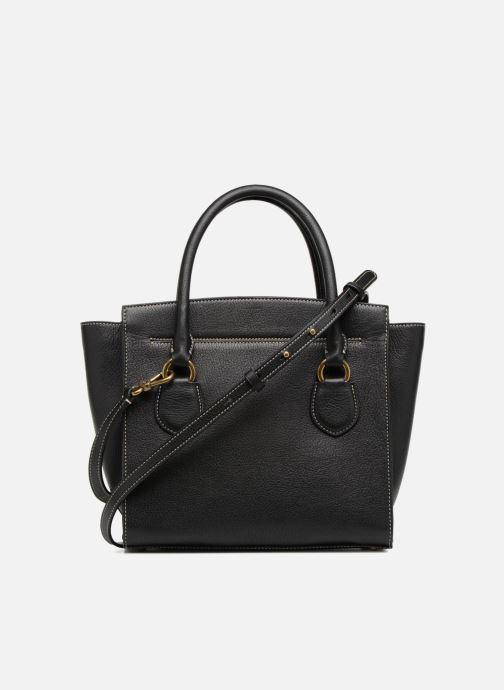 Handtaschen Lauren Ralph Lauren Millebrook Satchel M schwarz ansicht von vorne