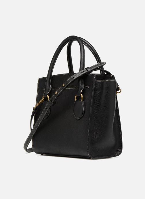 Handtaschen Lauren Ralph Lauren Millebrook Satchel M schwarz ansicht von rechts