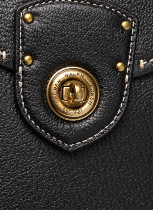 Handtaschen Lauren Ralph Lauren Millebrook Satchel M schwarz ansicht von links