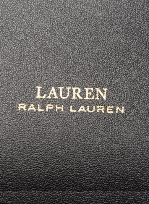 Sacs à main Lauren Ralph Lauren Debby Drawstring Medium Noir vue gauche