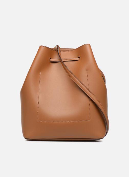 Handtaschen Lauren Ralph Lauren Dryden Debby Drawsting M braun ansicht von vorne