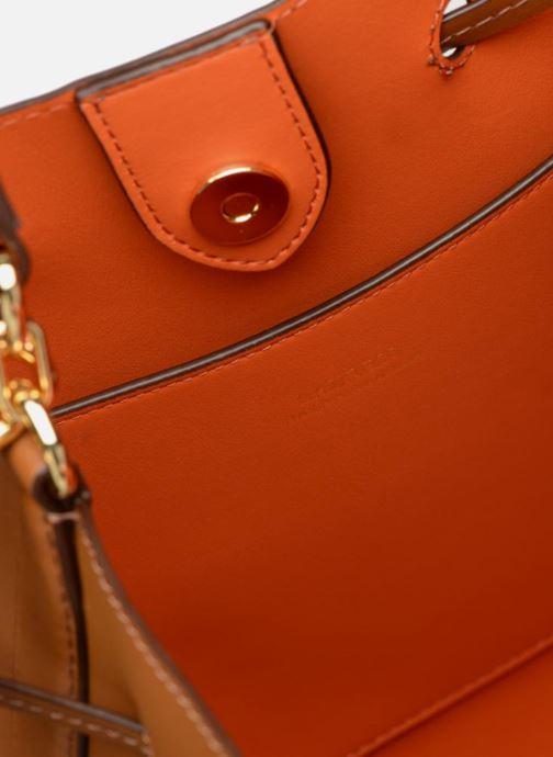 Handtaschen Lauren Ralph Lauren Dryden Debby Drawsting M braun ansicht von hinten
