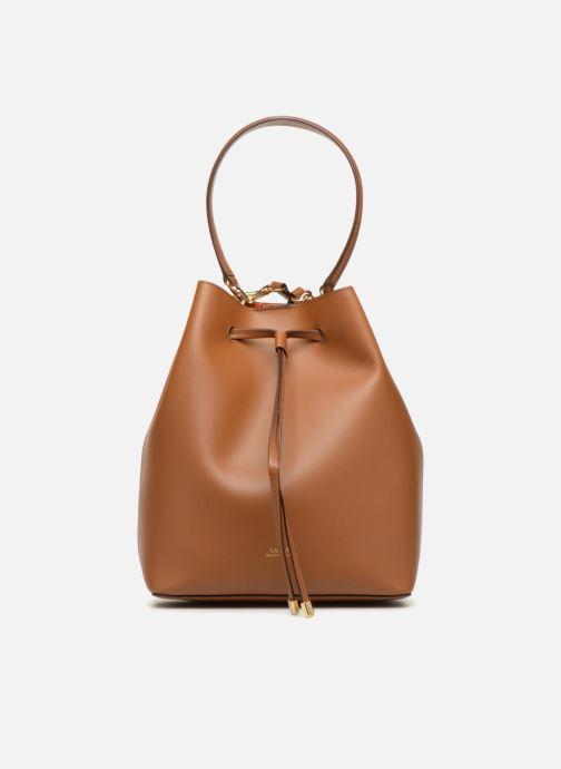 Handtaschen Lauren Ralph Lauren Dryden Debby Drawsting M braun ansicht von links