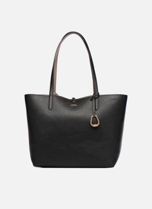 Handtassen Lauren Ralph Lauren Merrimack Reversible Tote Zwart detail