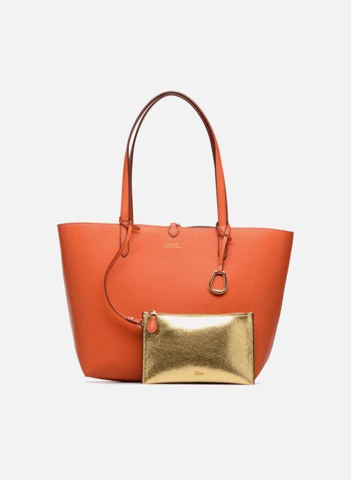 gold Handtaschen bronze 330505 Reversible Ralph Merrimack Tote Lauren wfSI8F