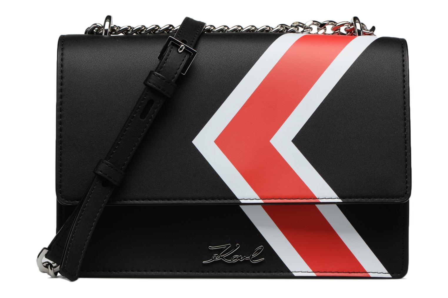 LAGERFELD KARL BAG STRIPES SHOULDER K Black dHrqgxHwv