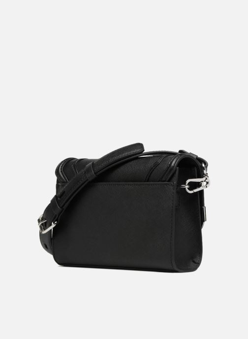 Saffiano schwarz Handtaschen Shoulderbag Krocky Karl Small Lagerfeld 330515 UCxq6nwPn