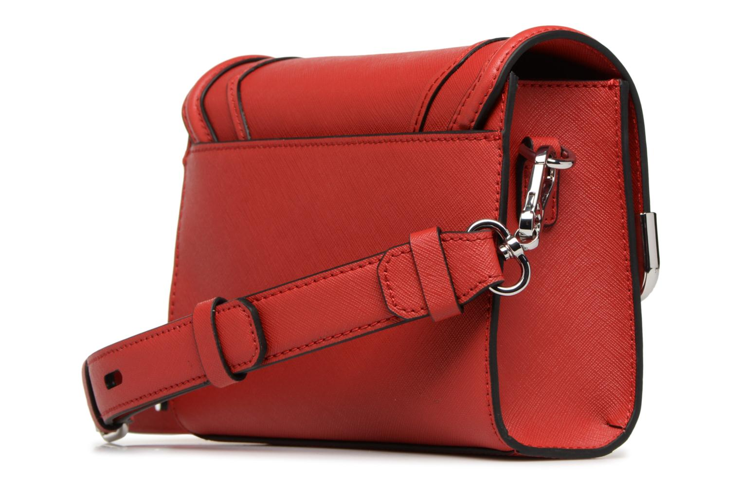 SAFFIANO Red LAGERFELD SMALL SHOULDERBAG ROCKY KARL K YBat7qxwYS