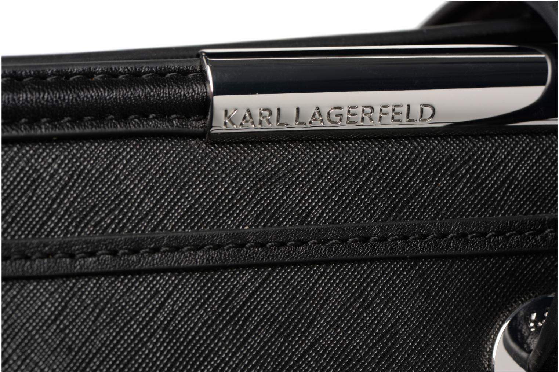 Black ROCKY KARL TOTE SAFFIANO LAGERFELD K wRpqPWgX7