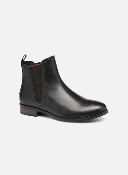 Bottines et boots Georgia Rose Steeva Noir vue détail/paire