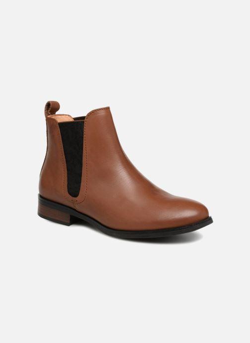 Bottines et boots Georgia Rose Steeva Marron vue détail/paire
