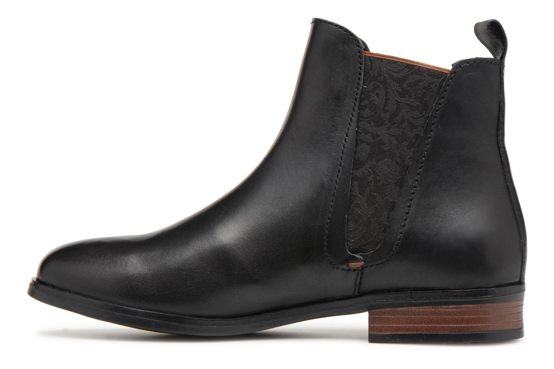 Bottines et boots Georgia Rose Steeva Noir vue face