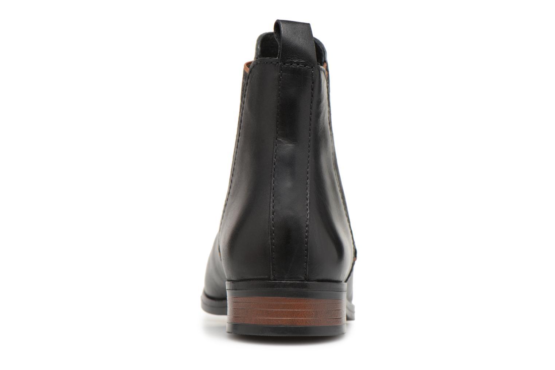 Bottines et boots Georgia Rose Steeva Noir vue droite