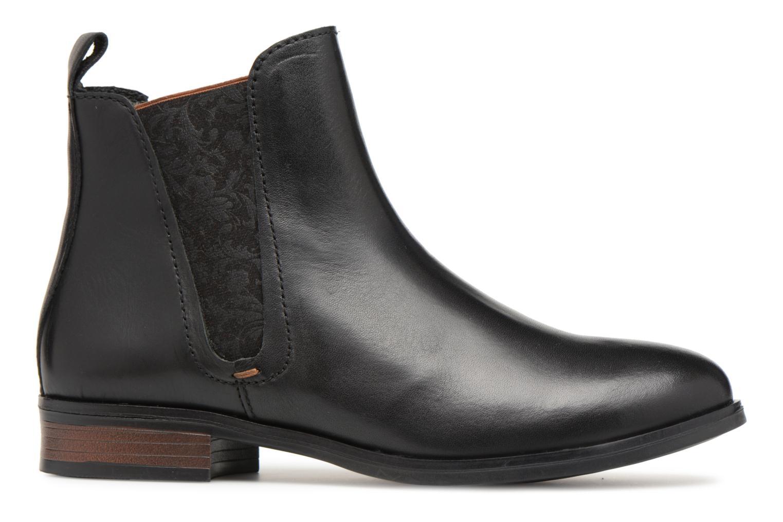 Bottines et boots Georgia Rose Steeva Noir vue derrière