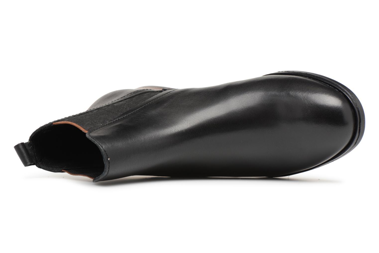 Bottines et boots Georgia Rose Steeva Noir vue gauche
