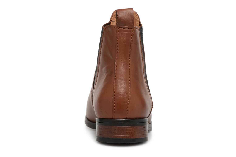 Bottines et boots Georgia Rose Steeva Marron vue droite