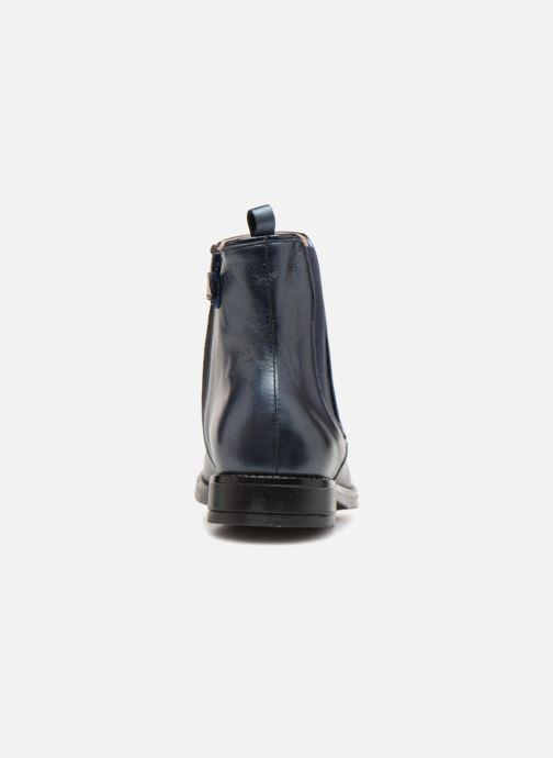 Bottines et boots Acebo's Vania Bleu vue droite