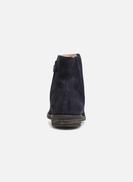 Bottines et boots Acebo's Lupita Bleu vue droite