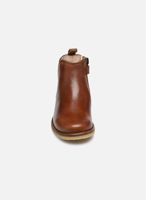 Bottines et boots Acebo's Paola Marron vue portées chaussures
