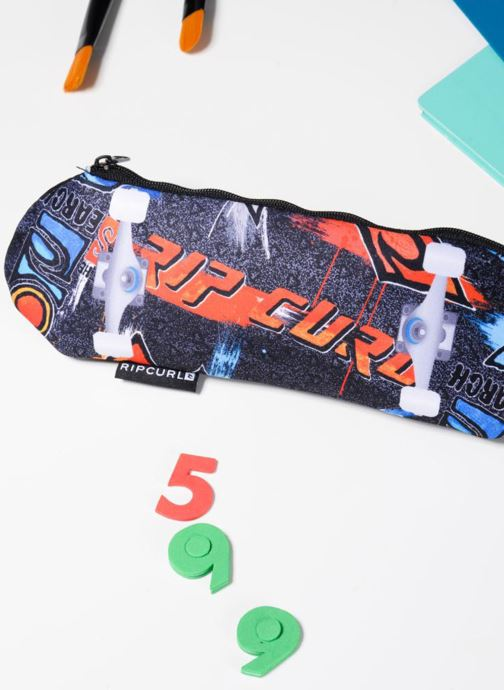 School bags Rip Curl SKATEBOARD PENCIL CAS Black view from underneath / model view