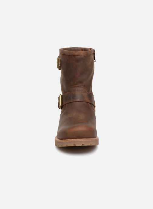 Bottines et boots Panama Jack Felina Marron vue portées chaussures