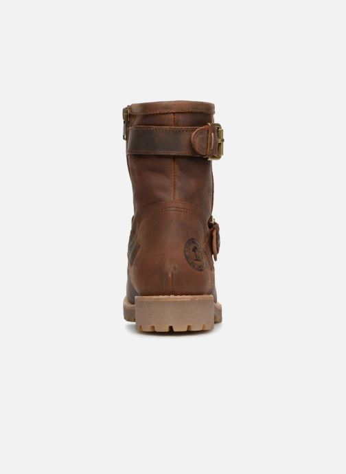 Bottines et boots Panama Jack Felina Marron vue droite