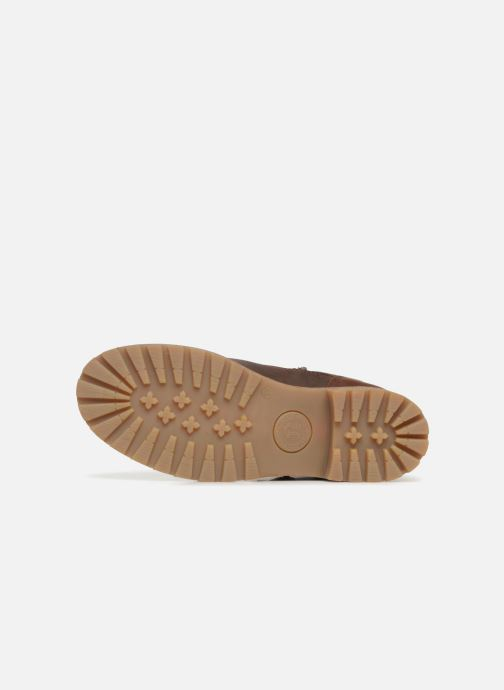 Bottines et boots Panama Jack Felina Marron vue haut