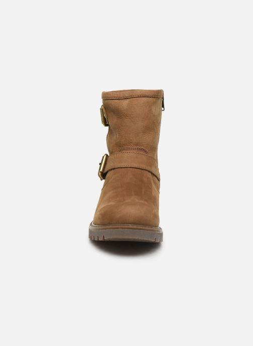 Bottines et boots Panama Jack Felina Beige vue portées chaussures