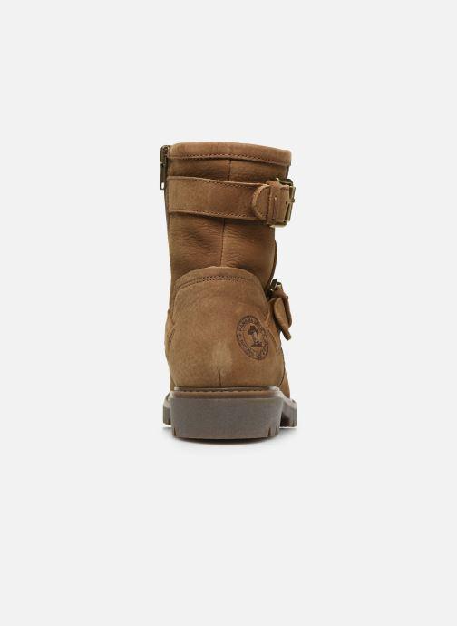 Bottines et boots Panama Jack Felina Beige vue droite