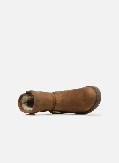 Bottines et boots Panama Jack Felina Beige vue gauche