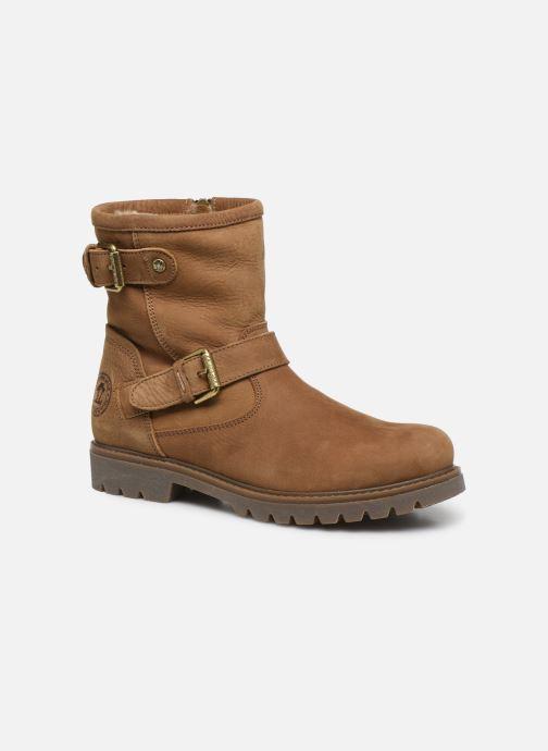 Bottines et boots Panama Jack Felina Beige vue détail/paire