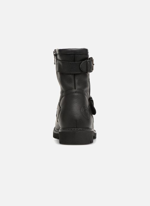 Bottines et boots Panama Jack Felina Igloo Noir vue droite