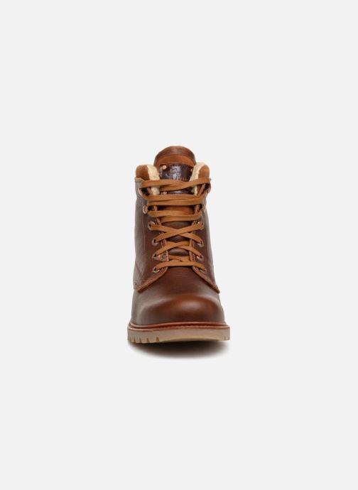 Ankle boots Panama Jack Panama 03 Aviator Brown model view