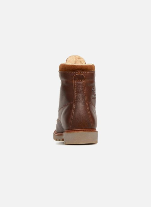 Ankle boots Panama Jack Panama 03 Aviator Brown view from the right
