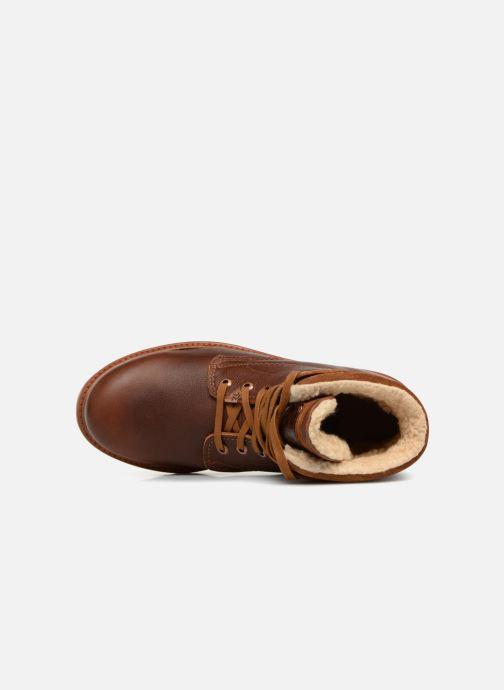 Boots en enkellaarsjes Panama Jack Panama 03 Aviator Bruin links