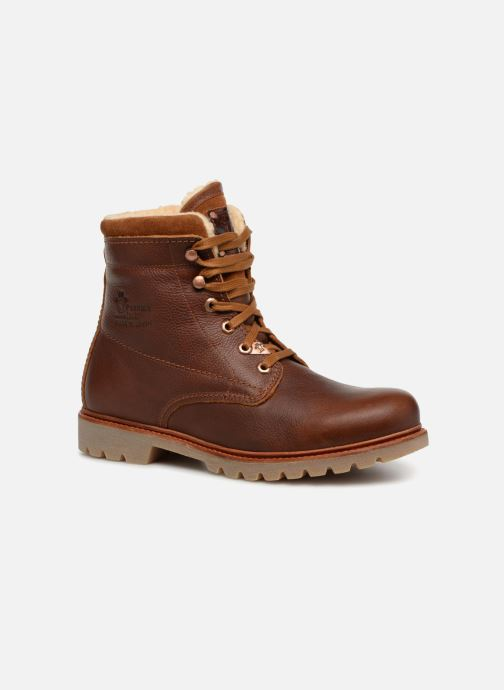 Ankle boots Panama Jack Panama 03 Aviator Brown detailed view/ Pair view