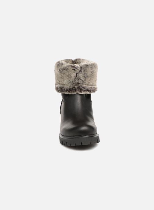 Bottines et boots Panama Jack Piola Noir vue portées chaussures